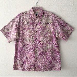 KI Designs Short Sleeve Cotton Hawaiian Shirt